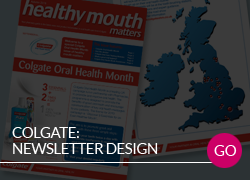 Colgate Newsletter Design